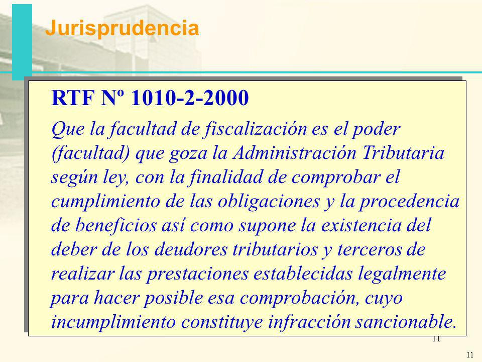 10 Facultades de Fiscalización