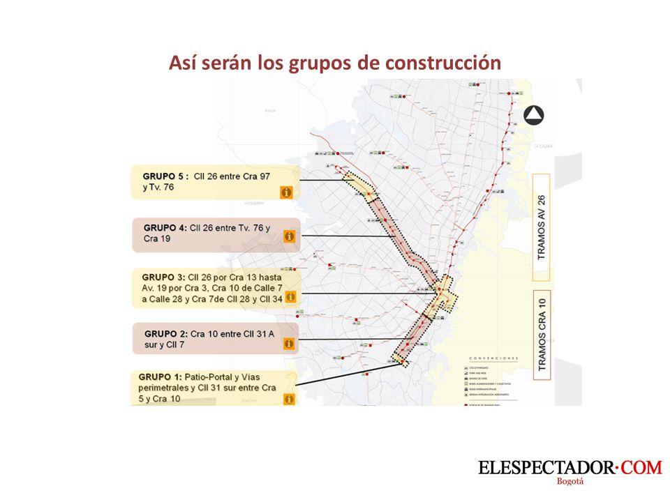 Este es el diseño de la interconexión de la calle 26