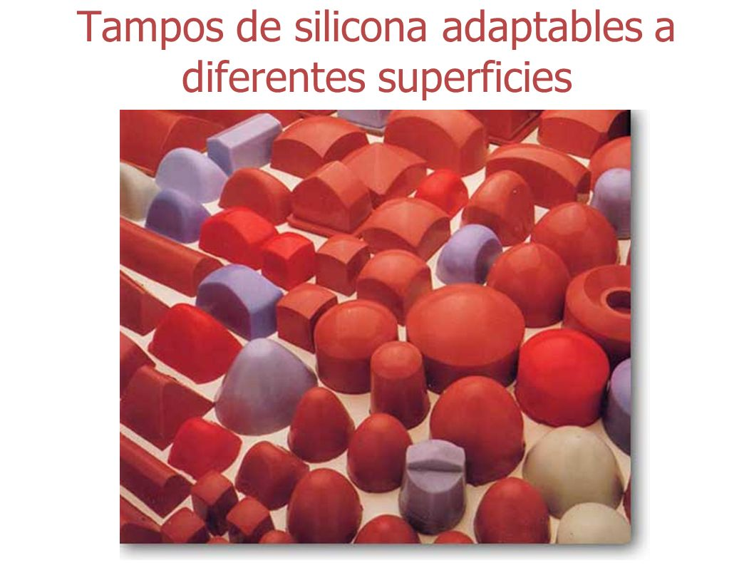 Tampos de silicona adaptables a diferentes superficies