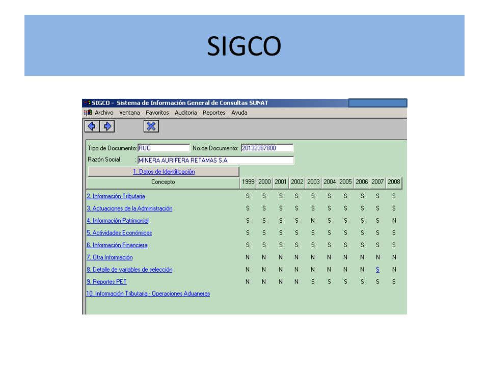 SIRAT Es un sistema que permite verificar las declaraciones y pagos presentados por los contribuyentes de la IRLima casi en línea.
