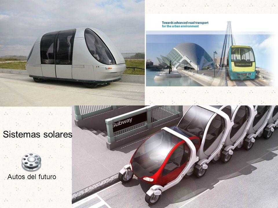 Sistemas solares Autos del futuro