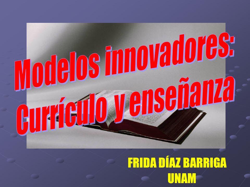 Modelos INNOVADORES a) Modelos INNOVADORES a) Tendencia: Visión organizacional DISEÑO CURRICULAR POR COMPETENCIAS.