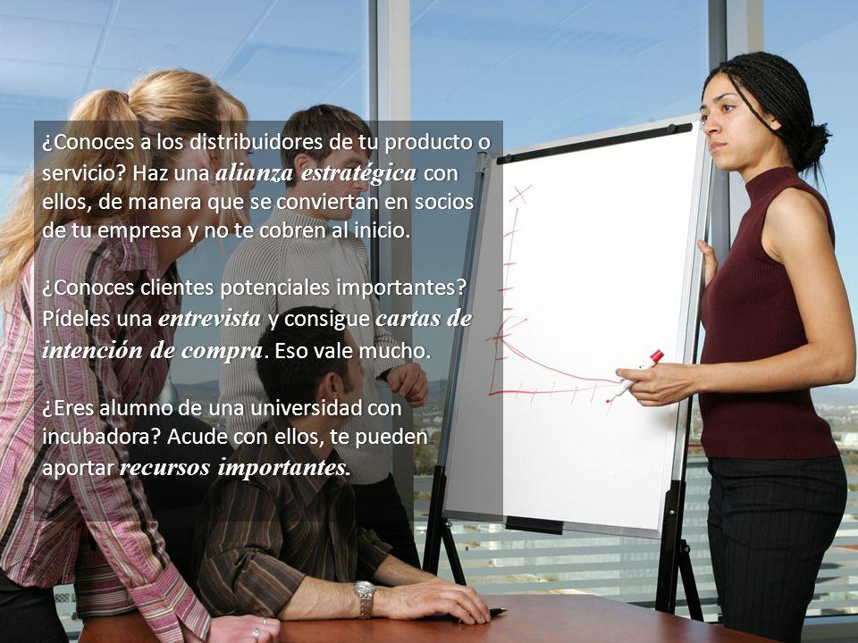 ¿Conoces a los distribuidores de tu producto o servicio? Haz una alianza estratégica con ellos, de manera que se conviertan en socios de tu empresa y
