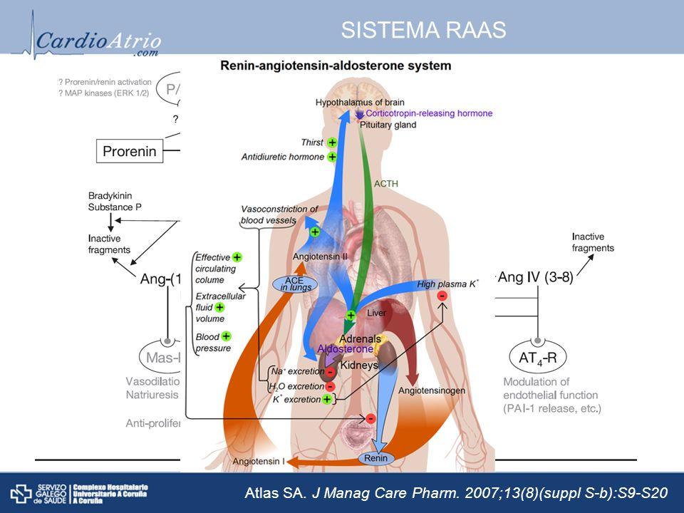 SISTEMA RAAS Atlas SA. J Manag Care Pharm. 2007;13(8)(suppl S-b):S9-S20
