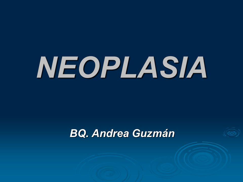 NEOPLASIA BQ. Andrea Guzmán BQ. Andrea Guzmán