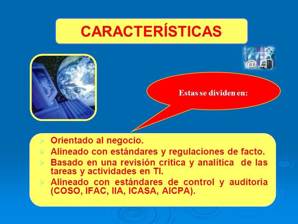 PLANIFICACIÓN Y ORGANIZACIÓN ADQUISICIÓN E IMPLEMENTACIÓN SOPORTE Y SERVICIOS MONITOREO