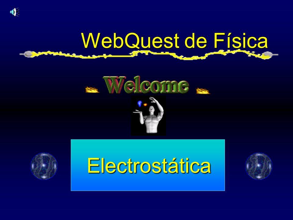 WebQuest de Física Electrostática