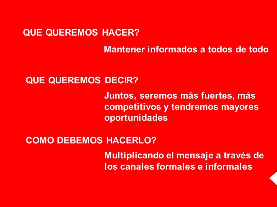 Identificación del Vocero CEO & Presidente de HSBC Bank Argentina Lograr que los empleados de BNL identifiquen claramente al Presidente; y establezcan con él, el primer vínculo en su relación con HSBC.