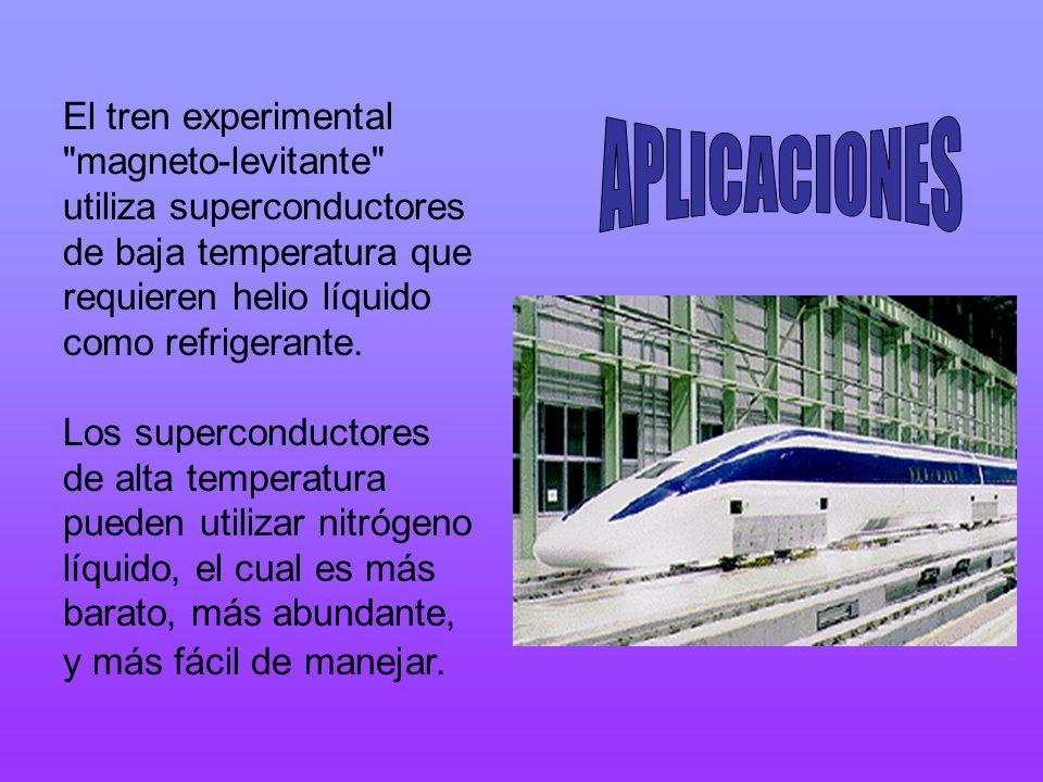 El tren experimental
