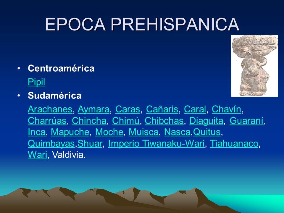 ALTAS CULTURAS AMERICANAS Las consideradas altas culturas precolombinas surgieron en Mesoamérica y los Andes.MesoaméricaAndes De norte a sur podemos nombrar las culturas azteca, mixteca, tolteca, maya, chibcha, moche, nazca, tiahuanaco, cañaris e inca, entre otras.aztecamixtecatoltecamaya chibchamochenazcatiahuanaco cañarisinca