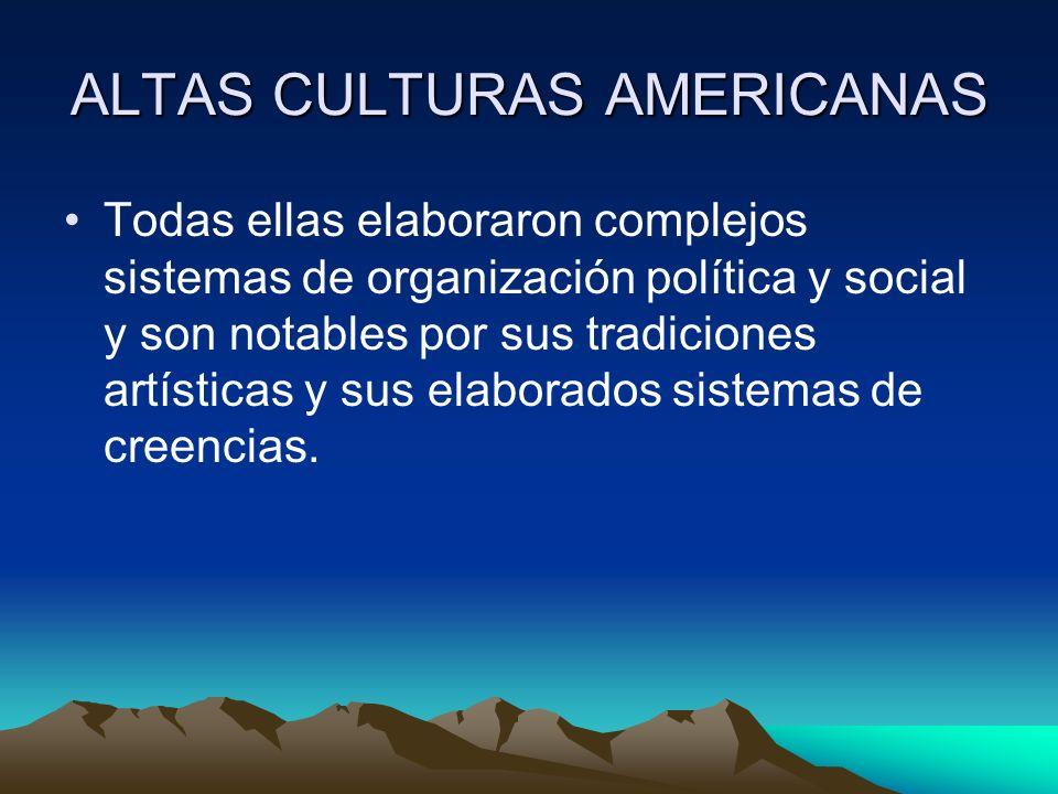 CLASIFICACION DE LOS PRIMEROS POBLADORES AMERICANOS SEGÚN LA MANERA DE OBTENER ALIMENTOS Norteamérica Aridoamérica Mesoamérica Mesoamérica yMesoamérica Andes.Andes