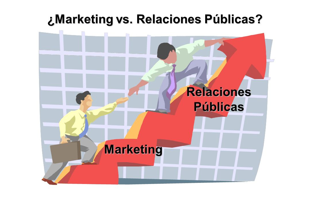 Marketing RelacionesPúblicas ¿Marketing vs. Relaciones Públicas?