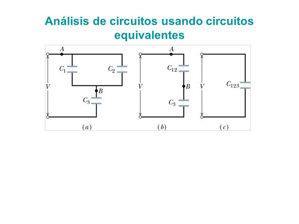 Uso de Capacitores en Circuitos Almacenan carga que pueden proveer al circuito rápidamente.
