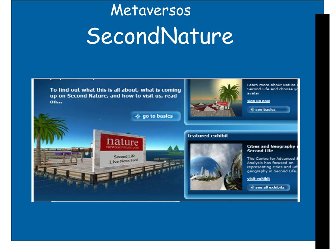 Metaversos SecondNature