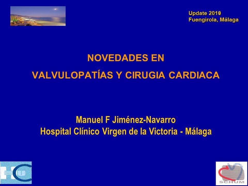 Update 2011 Fuengirola, Málaga Válvula mitral -Abordaje multidisciplinar.