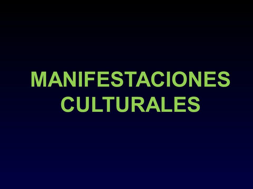 MANIFESTACIONES CULTURALES