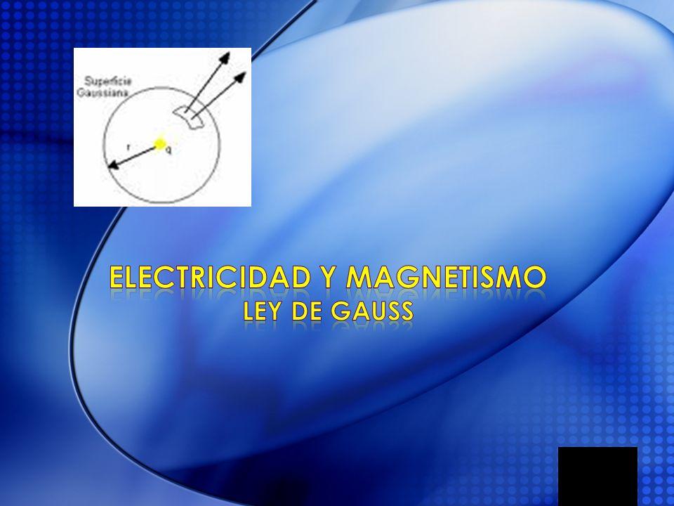 La ley de Gauss es un método matemático utilizado para el calculo del flujo de campo (eléctrico o magnético) a través de una superficie hipotética de simetría similar a la fuente generadora del campo.