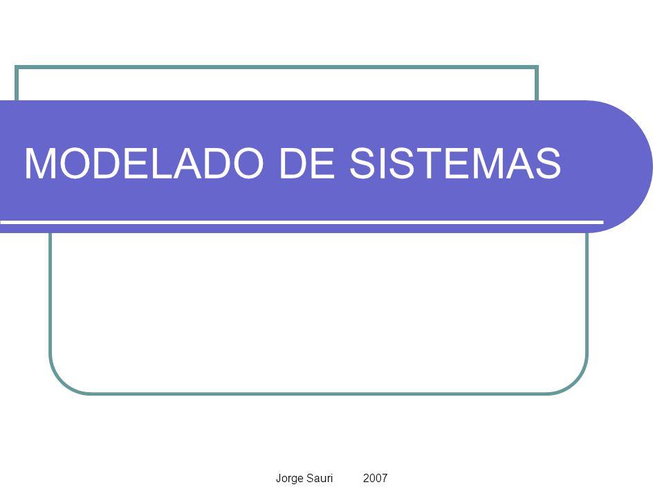 Jorge Sauri 2007 Los sistemas industriales son complejos, y cada día lo son más.