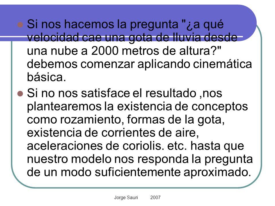 Jorge Sauri 2007 Si nos hacemos la pregunta