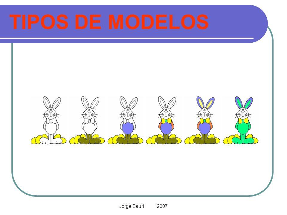 Jorge Sauri 2007 TIPOS DE MODELOS