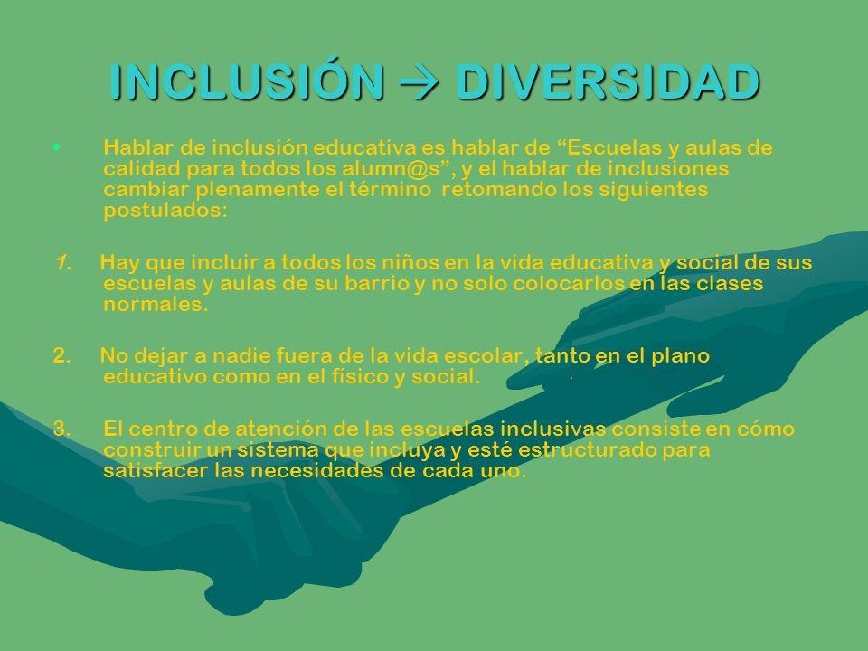 INCLUSIÓN DIVERSIDAD 4.
