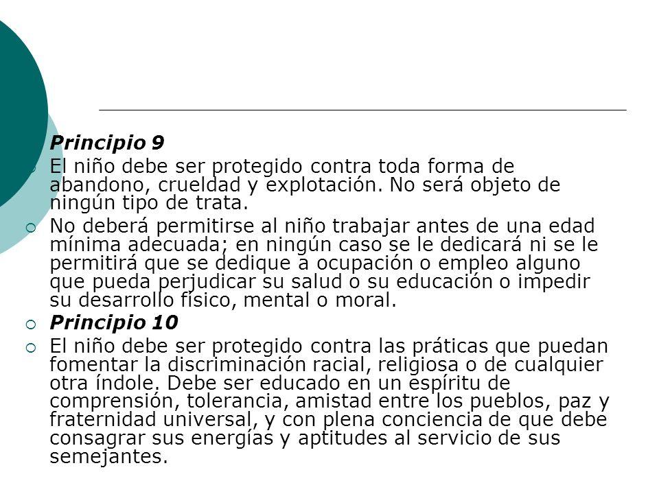 14 de Agosto de 1990 Chile hizo Ley de la República la Convención de los derechos del niño A partir de entonces se ha creado todo un sistema de protección social Han habido transformaciones en educación y otros ámbitos políticos que denotan un cambio relevante de noción de niño