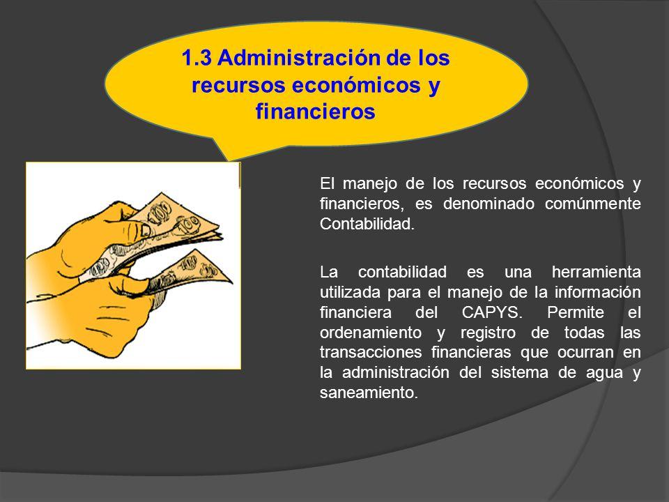 El manejo de los recursos económicos y financieros, es denominado comúnmente Contabilidad. La contabilidad es una herramienta utilizada para el manejo