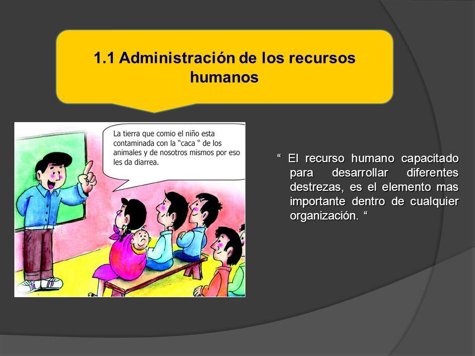 El personal deberá ser elegido por sus capacidades y habilidades necesarias para cada cargo sin importar el sexo 1.1.1 Definir la estructura organizativa y personal para la gestión de servicio