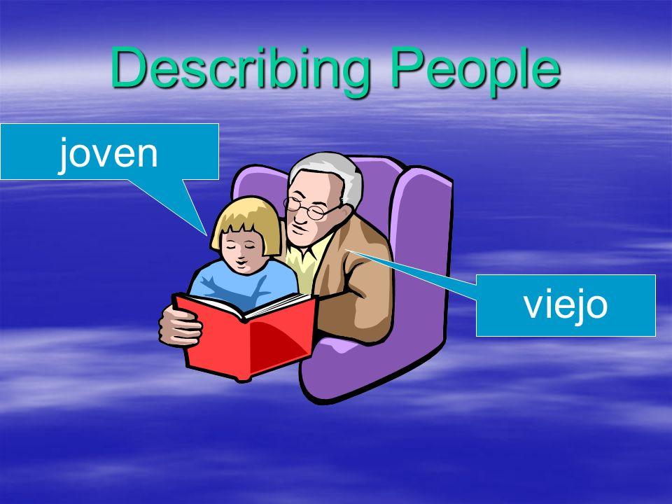 Describing People joven viejo