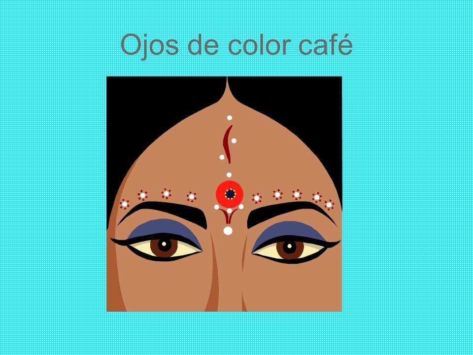 Ojos de color café