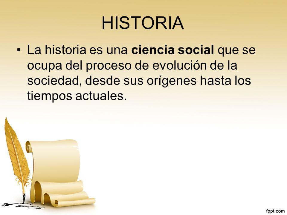 LA METODOLOGÍA DE LA HISTORIA