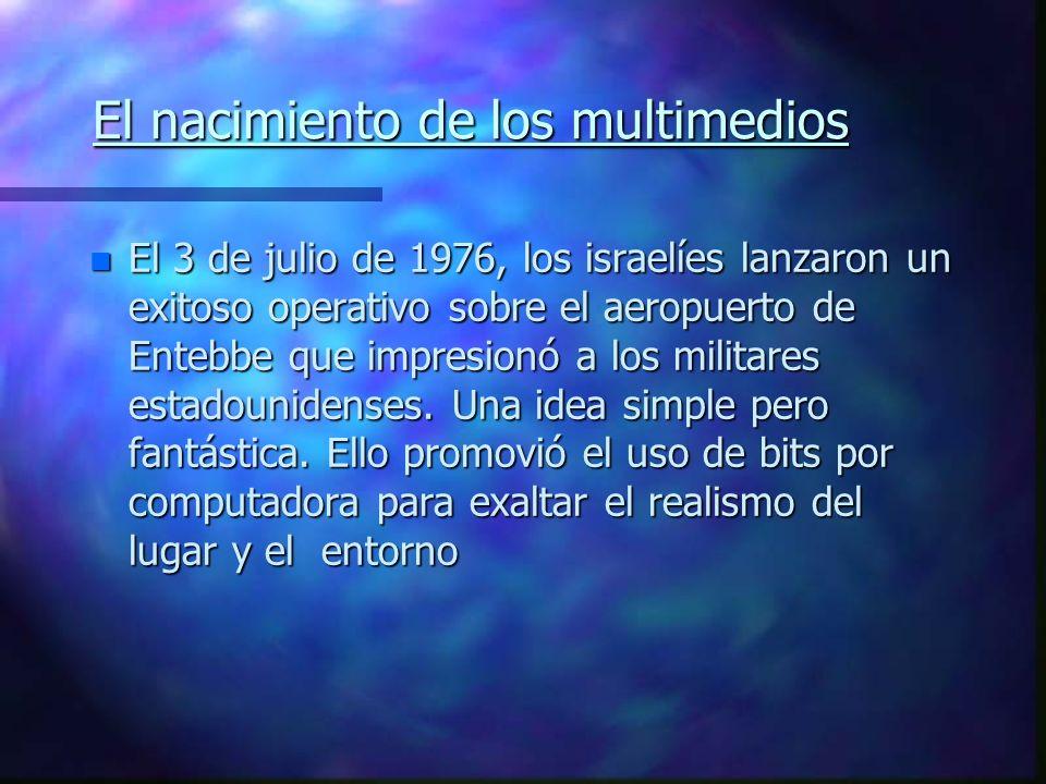 Los bits entremezclados Un nuevo propósito para la chica material n Multimedia, es el término utilizado para describir una serie de copias fotográfica