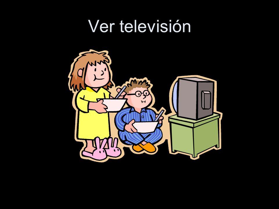 Ver televisión