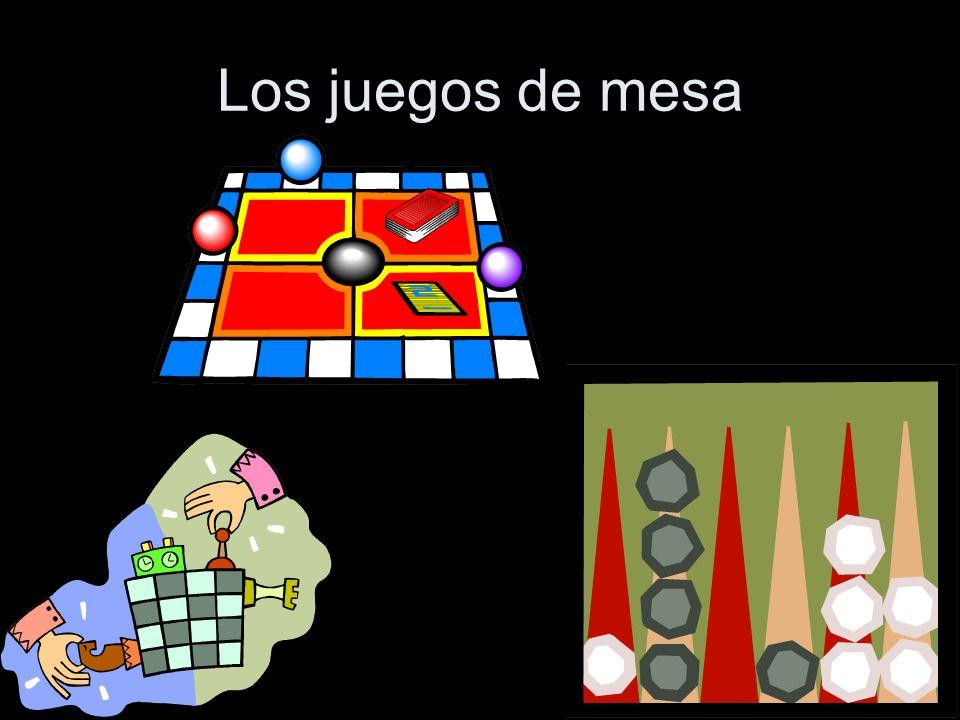 Los juegos de mesa