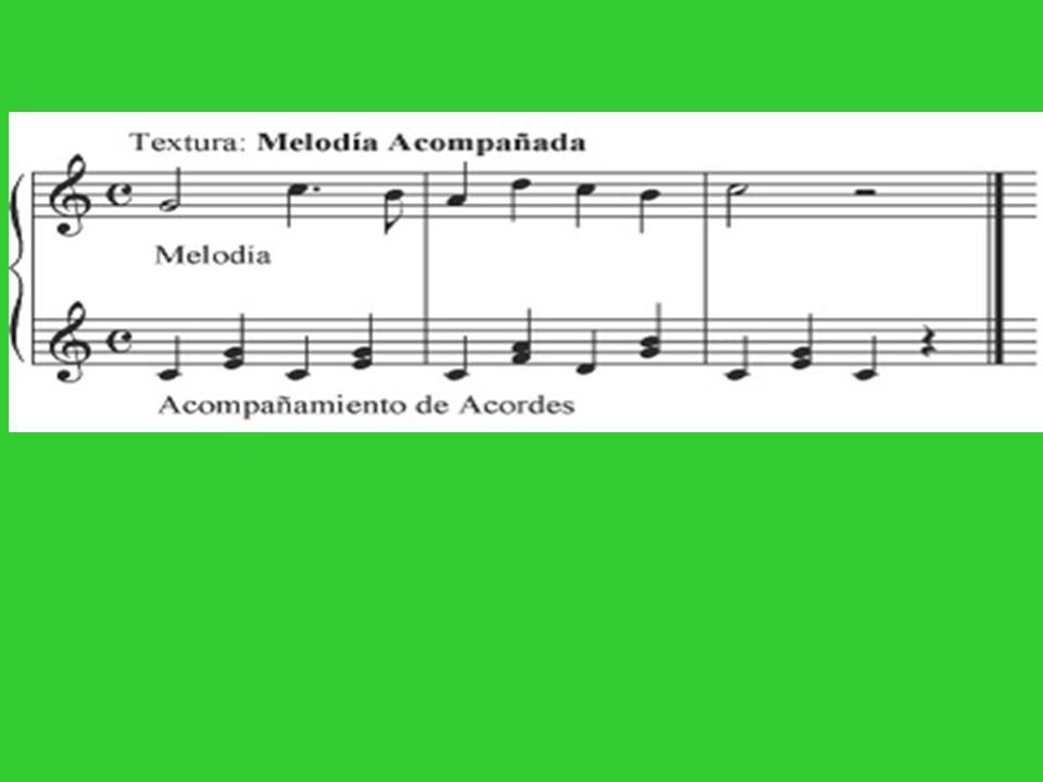 LA MELODÍA Definición de melodía: La melodía es la sucesión de sonidos de diferente altura, animados por el ritmo, que expresan una idea musical.