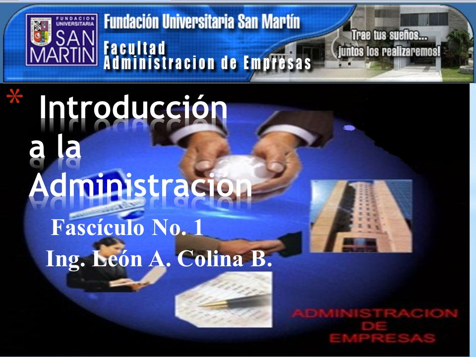 Fascículo No. 1 Ing. León A. Colina B.