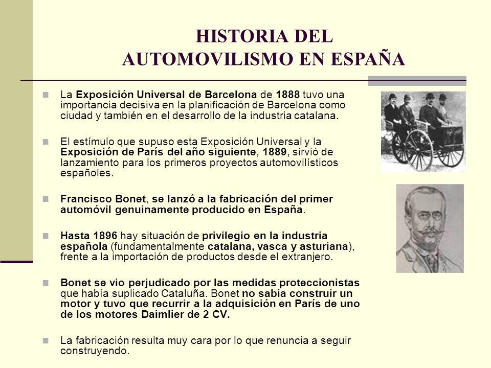 La Exposición Universal de Barcelona de 1888 tuvo una importancia decisiva en la planificación de Barcelona como ciudad y también en el desarrollo de