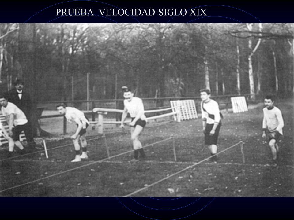 PRUEBA VELOCIDAD SIGLO XIX