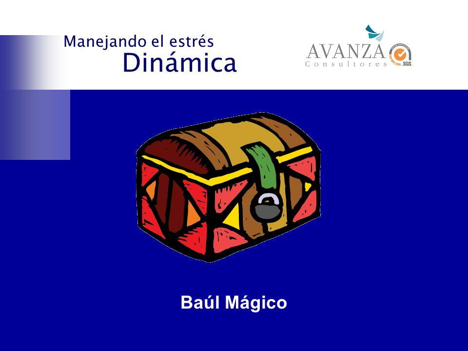 Dinámica Manejando el estrés Baúl Mágico