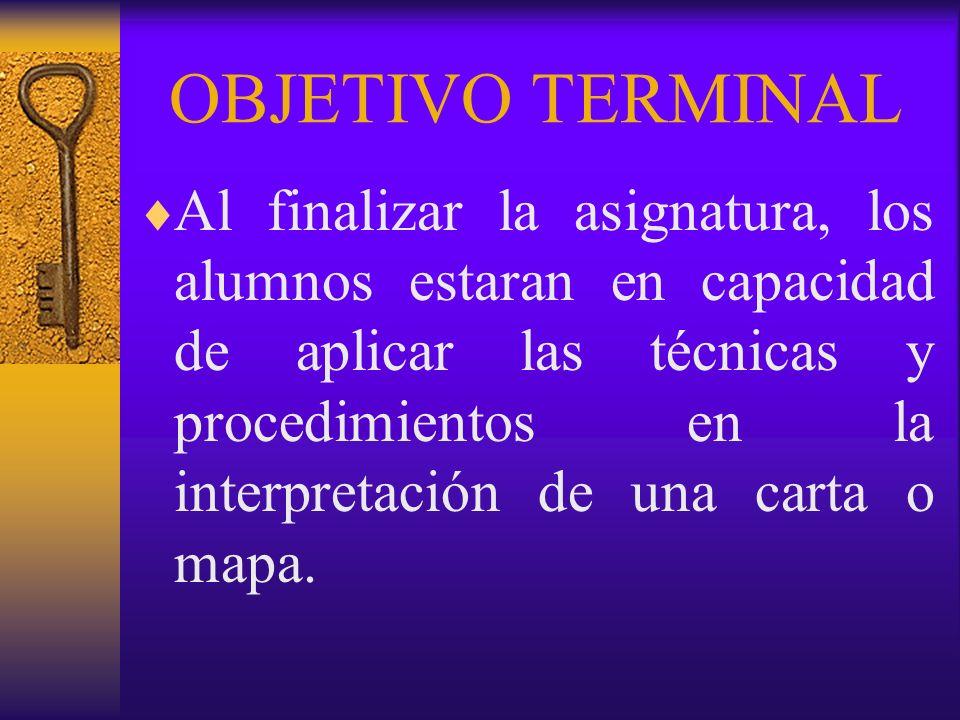 17.- Diagrama de Situación Relativa: Nos indica datos cuya interpretación se aparta de los fines perseguidos, ya que requiere de carácter técnico.