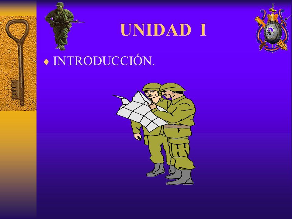 UNIDAD I INTRODUCCIÓN.