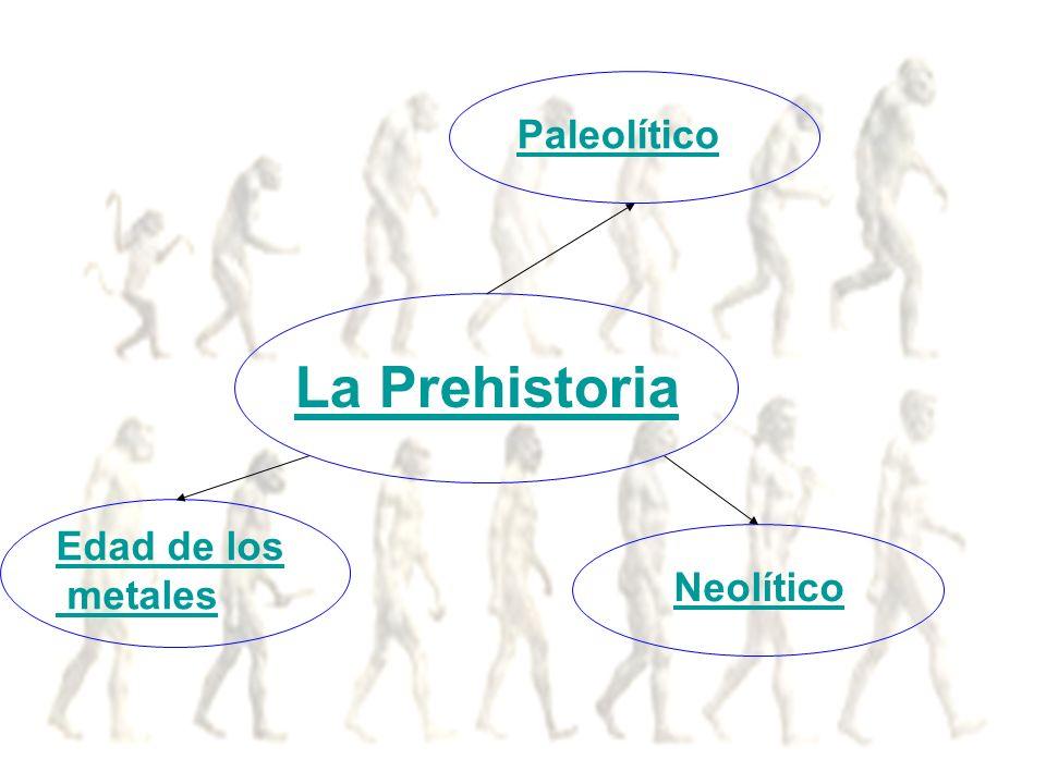 La Prehistoria Paleolítico Neolítico Edad de los metales