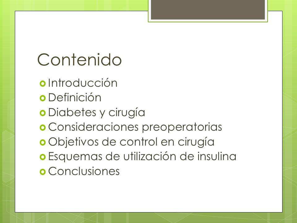 Esquemas de utilización de insulina Prepare 0.1U/ml 25U insulina regular 250cc SS 0.9% 1U/ 10 ml Infusión 0.5 - 1U/hora (10 cc/h) Prepare 1U/ml 100 U insulina regular 100cc ss 0.9% 1U/ 1 ml Infusión 0.5 - 1U/hora (1 cc/h)