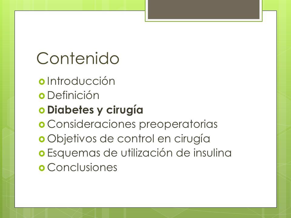 Cirugía Anestesia general Adrenalina Glucagón Cortisol GH Insulina Catabolism oProteinas Lipolisis Hiperglicemia Resistencia Insulina Individuo Tipo de Anestesia Extension de la Qx Hiperalimentacion Esteroides