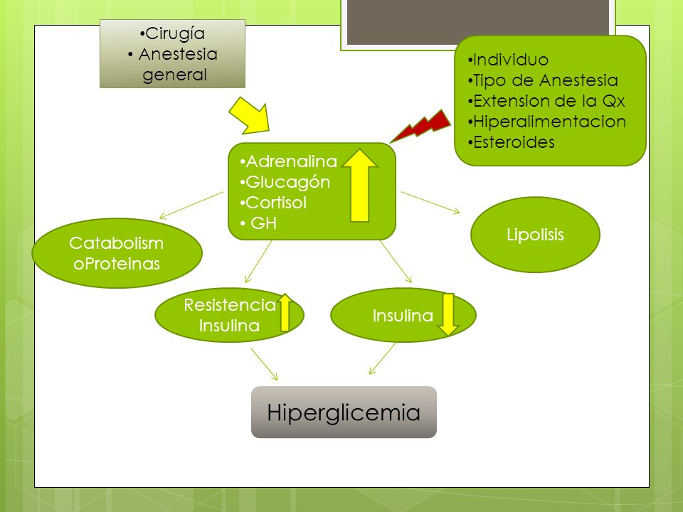 Biguanidas Metformina Disminuye Gluconeogenesis Aumenta sensibilidad periférica Acidosis láctica: IRC Edad avanzada Cirugía mayor Suspender 48-72 horas si riesgo de acidosis láctica Anesthesiology Clin 27 (2009) 687–703