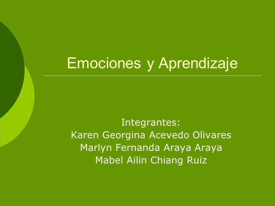¿Cómo influyen las Emociones en el Aprendizaje.
