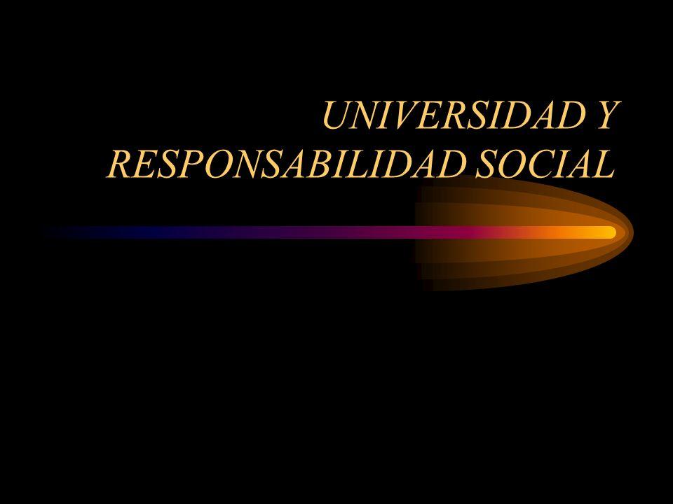 Reflexiones sobre responsabilidad social Uno de los principales indicadores en la evaluación de la responsabilidad social, es aquel que los estudiantes van asumiendo a través de su práctica académica, la responsabilidad de poner sus conocimientos a favor de los demás, formándose en la solidaridad con el mundo real.