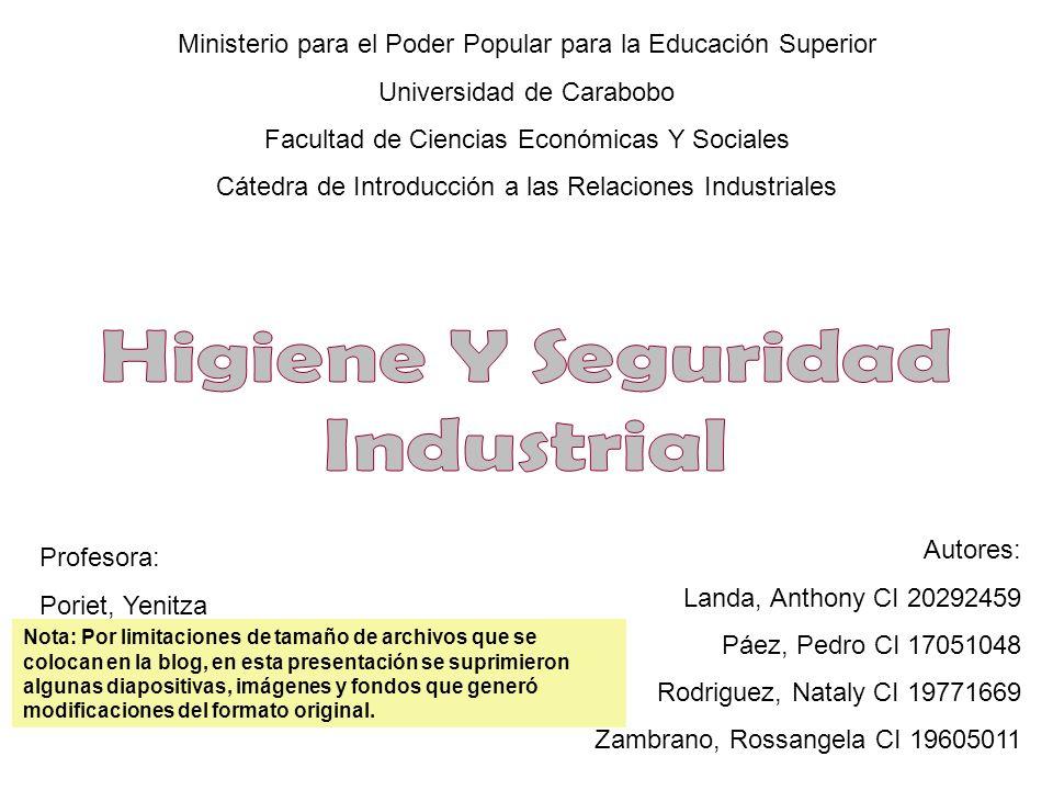 Ministerio para el Poder Popular para la Educación Superior Universidad de Carabobo Facultad de Ciencias Económicas Y Sociales Cátedra de Introducción