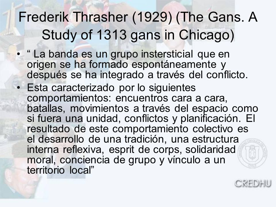 Frederik Thrasher (1929) (The Gans.