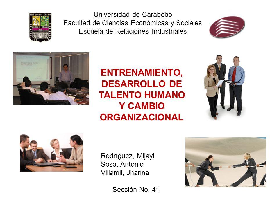 Universidad de Carabobo Facultad de Ciencias Económicas y Sociales Escuela de Relaciones Industriales Rodríguez, Mijayl Sosa, Antonio Villamil, Jhanna
